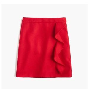 BRAND NEW JCREW WOOL SKIRT